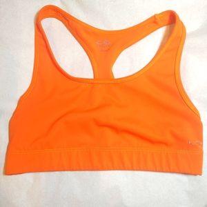 Orange Champion Sports Bra